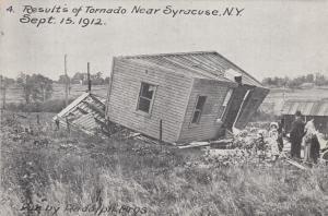 SYRACUSE , New York , 1912 ; Results of Tornado