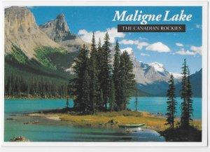 Maligne Lake The Canadian Rockies  Alberta Canada 4 by 6