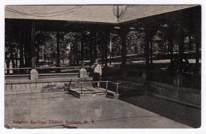 1907-15 Sulphur Springs Clifton Spring New York Ontario Co. NY RARE DB Postcard
