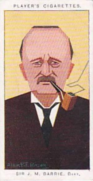 Player Vintage Cigarette Card Sea Fishes No 5 Sir J M Barrie  1926
