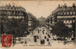 CPA Paris 2e - Avenue de l'Opéra (57401)
