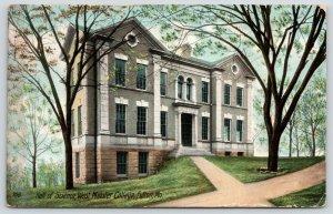 Fulton Missouri~Westminster College~Hall of Science on Hillside~1911 Postcard