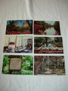 Mobile AL - Lot Of 6 Great Vintage Postcards - x0513