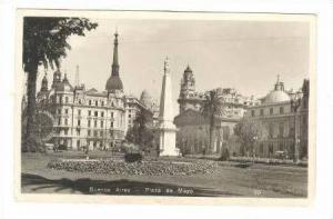 RP Buenos Aires, Argentina, Plaza de mayo, PU 1941