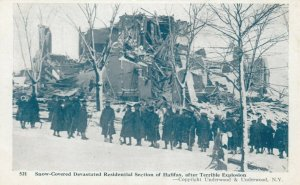 HALIFAX , N.S. , 1910s ; Explosion , Residential section