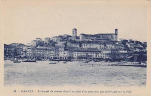 Le Suquet Du Sommet Duquel On Jouit d'Un Panorama Fort Interessant Sur La Vil...