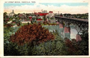 Tennessee Knoxville Gay Street Bridge 1925