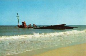 Postcard North Carolina Outer Banks Rodanthe Hatteras Island North Carolina