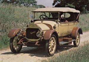 1914 WW1 Valveless South Africa Exhibit Classic Sports Car Postcard NEW