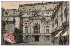 Tours - The Theater - Old Postcard