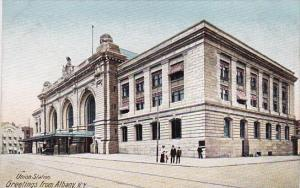 New York Albany Union Station Greetings From Albany