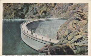 Famous Fishing Resort, Eagle Nest Dam near Raton, New Mexico, 10-20s