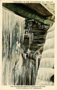 PA - Coudersport. Ice Mine in June 1913