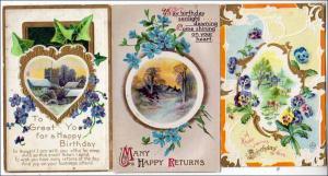 3 - Birthday Cards, Scenes