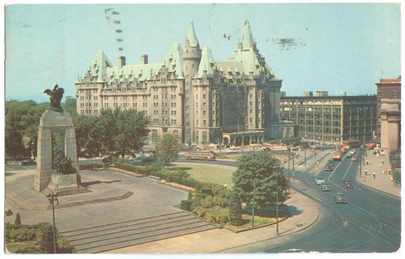 Canada, The Chateau Laurier, Confederation Square and National War Memorial