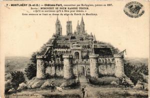 CPA MONTLHERY - Chateau-Fort reconstruite par Rodiggiere.. (436463)