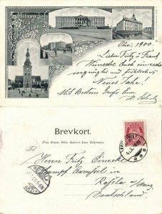norway norge, CHRISTIANIA, Stortningsbygningen, Tostrupgaarden (1900) Postcard