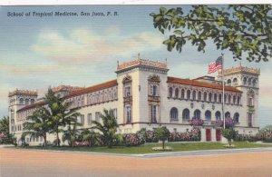 Puerto Rico San Juan School Of Tropical Medicine Curteich sk3352