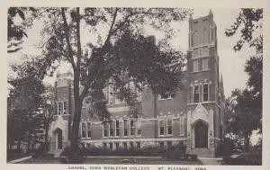 Iowa Mt Pleasant Chapel Iowa Wesleyan College Albertype