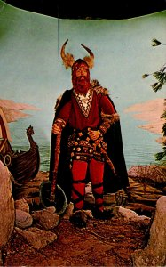 Washington D C National Historical Wax Museum Eric The Red Viking Chief Of Ic...