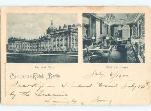 Pre-1907 NICE VIEW Berlin Germany i5413