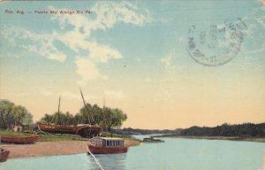 ARGENTINA, PU-1915; Puerto Mal Albrigo Sta Fe