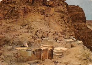Israel Massada Ruins of Herod's Palace, Wall Paintings