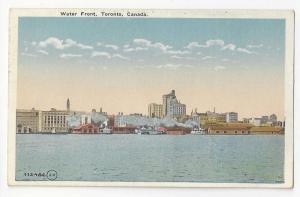 Canado Toronto Ontario Waterfront Vintage Postcard