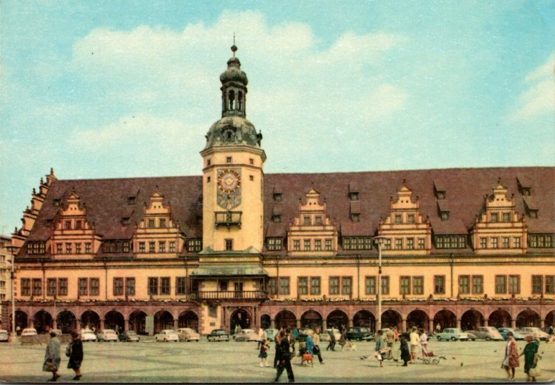 Germany Leipzig Market & Old Town Hall