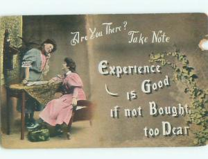 Divided-Back PRETTY WOMAN Risque Interest Postcard AA7937