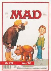 Lime Rock Trade Card Mad Magazine Cover Issue No 199 June 1978