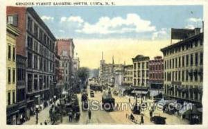 Genesee Street Utica NY 1922