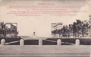 Varennes en Argonne, Pennsylvania Memorial, Meuse-Argonne Battlefield in Vare...