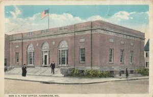 CAMBRIDGE , Maryland, 1920 ; New Post Office