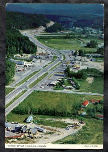 dc1504 - GOLDEN BC 1978 Aerial View