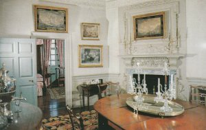 10598 The Dining Room at Mount Vernon, Virginia 1956