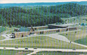 Aerial View, Seminaire Marie, Reine du Clerge, Metabetchouan, Lac St-Jean, Qu...