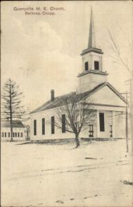 Quarryville CT ME Church Belkap c1910 Postcard