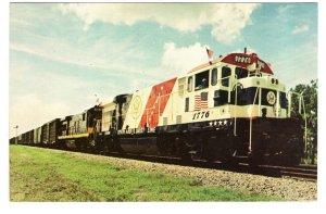 Spirit of `76 Seaboard Coast Line Railway Train, Bicentennial Colors