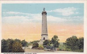 Myles Standish Monument Duxbury Massachusetts 1924
