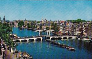 Netherlands Amsterdam C Meagre Bridge Across The Amstel