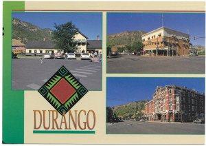 US Colorado. Durango.  Mint Card. Beautiful Colorado.