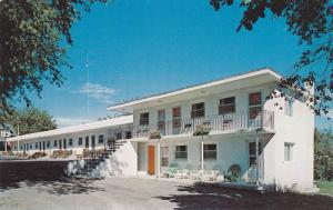 Exterior,  Riverview Motel, on hwy 2 , Brockville,  Ontario,   Canada,   40-60s