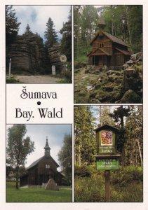 Sumava Bay Bayer Wald Bavaria Postcard