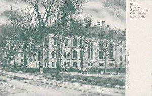 Maine Augusta Kennebec County Jail & Court House