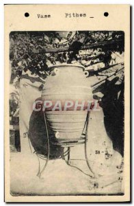 Postcard Old Vase Pithos Vallouris
