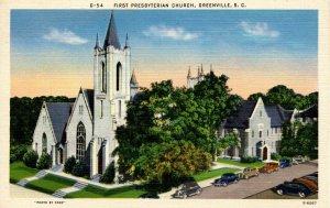 SC - Greenville. First Presbyterian Church