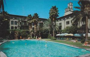 The Mission Inn with beautiful outdoor pool, Riverside, California,40-60s
