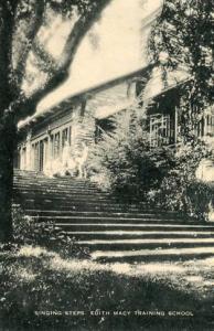 NY - Briarcliff Manor, Edith Macy Training School, Singing Steps. (Opened May...