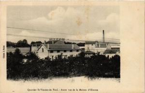CPA MILITAIRE Quartier St-Vincent de Paul, Autre vue de la Maison (316170)
